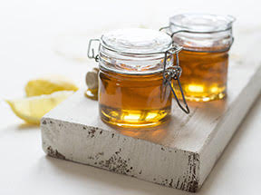 Honey to relieve allergies